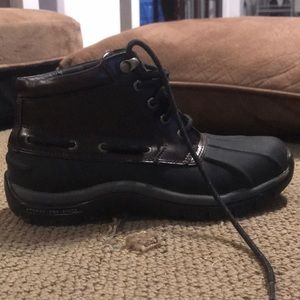 Like new Sperry duck boots